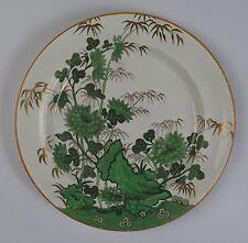 Spode faience pearlware plaque vert bambou motif c1815