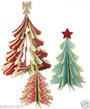 Sizzix Bigz die Christmas trees 3D 658754 Use Big Shot, Express, Pro etc.
