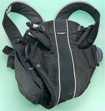 BabyBjorn 025002US Black Mesh Baby Carrier Synergy with Lumbar Support