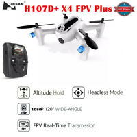 Hubsan H107D+ Drone FPV X4 PLUS 5.8GHz Altitude Mode Quadcopter with 720P HD Cam