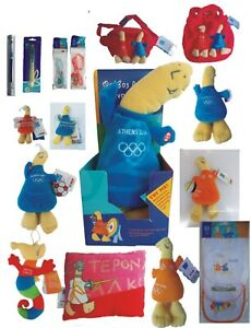 athens 2004 official mascot souvenirs