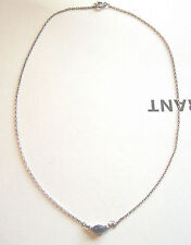 Kette Collier 925 Sterling Silber Sodalith Lapislazuli blau Cabochon Halskette