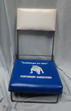 #AA. 1970s/80s CANTERBURY BULLDOGS RUGBY LEAGUE SUPPORTERS  FOLDING SEAT / CHAIR