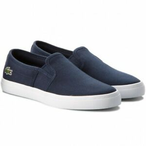 Lacoste Womens Gazon Pumps Trainers 7-32spw0138003 RRP £65 (SR)