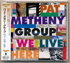 Pat Metheny Group - We Live Here / Lyle Mays / Japan CD / Nonesuch / Sealed OOP!