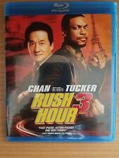 RUSH HOUR 3 (Blu-ray Disc, 2007, 2-Disc Set) Jackie Chan & Chris Tucker
