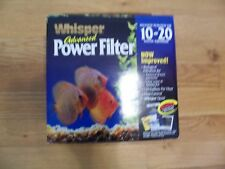 Whisper Power Filter Up to 20-Gallons NEW