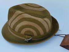 Carlos Santana Two Tone Fedora Hat Size Large