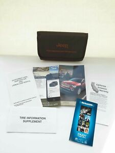 2016 Jeep Compass owners manual with supplements & case
