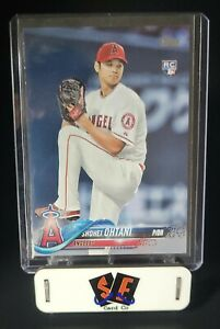 SHOHEI OHTANI - 2018 TOPPS Series 2 Rookie Card #700 (Pitching) - ANGELS RC