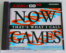 NOW GAMES That´s What i Call - AMIGA / Commodore CD³² /A570/CDTV CD-ROM,new/neu