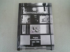 ANTHONY BECHU PROJETS ET REALISATIONS 1983/1998 ARCHITECTURE CPL 1998