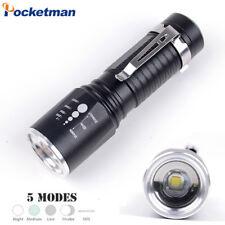 8000LM Tactical Led Flashlight CREE xml T6 Waterproof Flashlight 5 Modes 18650