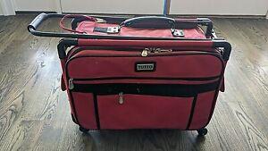 Tutto Sewing Machine Case On Wheels Medium 20in Cherry Red # 4220CMA-M