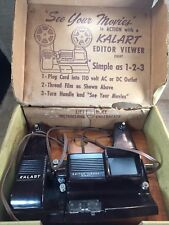 Vintage Kalart Editor Viewer Eight Model # EV-8 8mm Movie Film Viewer Splicer