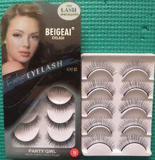 5 Pairs New Long Thick Natural Voluminous Handmade BEIGEAI False Eyelashes #19