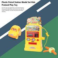 Kid Simulated Petrol Pump Petrol Service Station&Light Music Pretend Xmas Gift❤