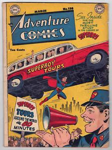 ADVENTURE COMICS #138 - GOLDEN AGE - SCARCE ISSUE - VG