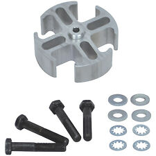 """[14548] FAL Engine Fan Spacer kit - Aluminum 1"""" Thick 5/8"""""""