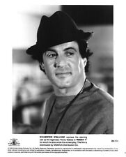 Sylvester Stallone Rocky 5 1990 Iconic portrait in hat Original 8x10 Photo