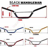 "Motorcycle 22mm 7/8"" Handlebar Handle bars Pit Bike Dirt Bike Off-road 50cc -125"
