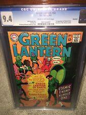 Green Lantern #55 CGC 9.4 DC 1967 Savannah Pedigree! Almost 50 yrs old! cm sale