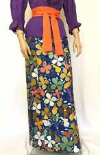 "eeee7bd911 Vintage 1960s Oscar de la Renta Hand Embroidered Skirt RAZOOKS 28"" Waist  Mexican"
