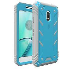 Poetic Revolution Premium Rugged Hybrid Case for Motorola Moto G4 Play 2016 Blue