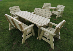 6 Seater Outdoor Dining Sets