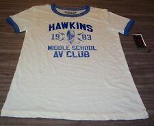 Stranger Things Shirt Small Hawkings Middle School Womens Juniors