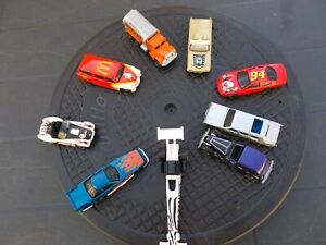 JOB LOT OF 9 ASSORTED  HOT WHEELS CARS 57-USED/MINT/UNBOXED