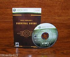 Fallout 3 (Xbox 360) Pause The Real-Time Combat to Target! **Disc & Manual**
