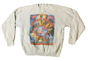 VTG 1998 New York Yankees World Series Champions Crewneck Sweatshirt Size XL