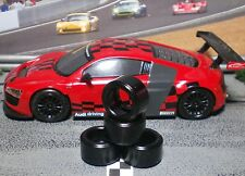 1/32 URETHANE SLOT CAR TIRES 2pr PGT-20124LM fit Scalextric 911, 997, Audi R8