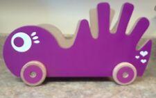 Pkolino P'kolino Book Buggee Pull Toy Book Buggy Purple EUC