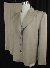 Einreihige Damen-Anzüge & -Kombinationen aus Wolle in Größe 42