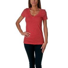 Next Level Apparel Women's Soft Deep V-Neck T-Shirt