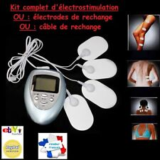 électrostimulateur à 4 électrodes Massage électro-stimulation Electrostimulation