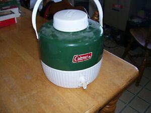 Vintage Coleman Thermos Jug 1 Gallon Capacity With Cup/Lid Wichita Kansas 1979