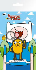 ADVENTURE TIME JAKE BAGGED RUBBER KEYRING NEW OFFICIAL MERCHANDISE
