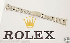 ROLEX OYSTER ARMBAND - EDELSTAHL - GEFALTET - 1960/70er JAHRE - 19 mm -DAYTONA