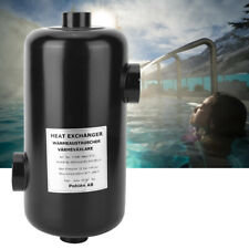 Swimming Pool Heat Exchanger Heater Pool Thermostat Equipment Access Portable