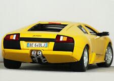 "1:18 Burago ""LAMBORGHINI MURCIELAGO V12 (Giallo Evros Yellow) RARE #3316 Bburago"