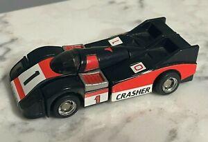 Vintage 1983 Crasher MR-20 Black GoBots Transformer Bandai Japan