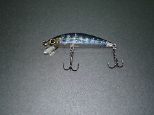 "poisson nageur Lucky craft Humpback minnow 50SP "" clear blue iwana """