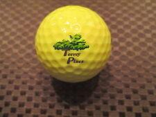 Logo Golf Ball-Torrey Pines Golf Resort.California.Yellow Ball.