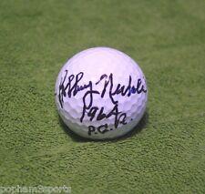 BOBBY NICHOLS Signed/Autographed GOLF BALL 1964 PGA Champion Insc. w/COA
