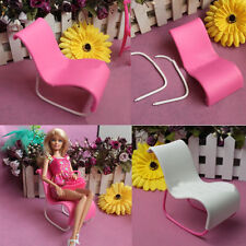 2X Furniture Rocking Beach Chair Lounge For Dreamhouse Barbie Doll Princess NEW