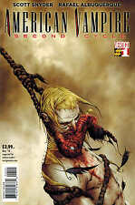 Scott Snyder American Vampire Second Cycle #1 1:50 Jae Lee Variant Cover! Rare