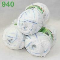 Sale Lot 3 Balls x50g Soft Bamboo Cotton Baby Wrap Hand Knitting Crochet Yarn 40